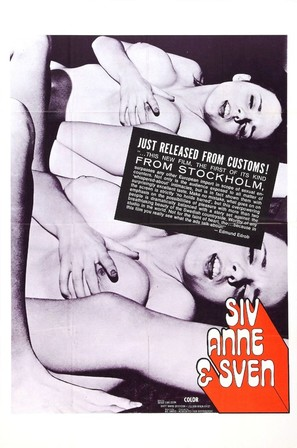 Siv, Anne & Sven - Swedish Movie Poster (thumbnail)