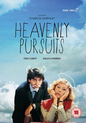 Heavenly Pursuits - British DVD movie cover (thumbnail)