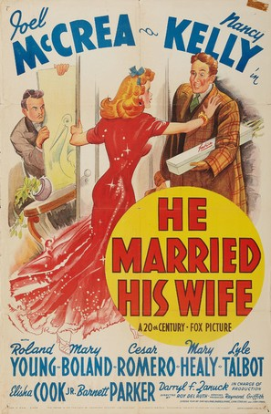 He Married His Wife - Movie Poster (thumbnail)