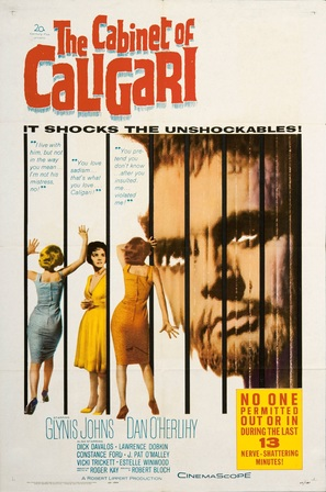 The Cabinet of Caligari - Movie Poster (thumbnail)
