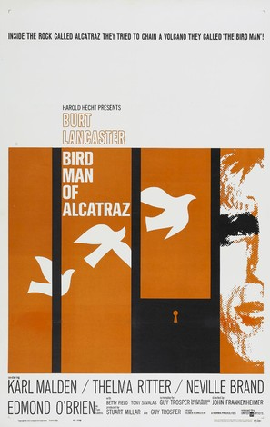 Birdman of Alcatraz - Movie Poster (thumbnail)