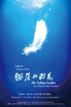 The Falling Feather - Chinese Movie Poster (thumbnail)