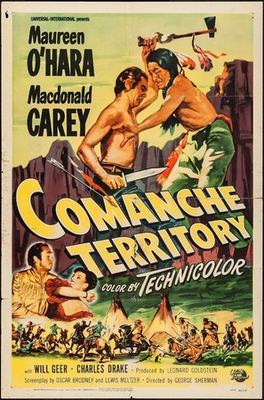 Comanche Territory - Movie Poster (thumbnail)