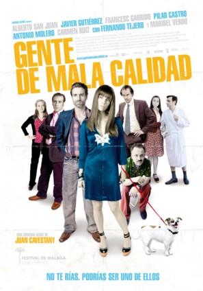 Gente de mala calidad - Spanish Movie Poster (thumbnail)