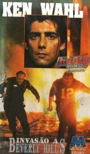 The Taking of Beverly Hills - Brazilian VHS cover (thumbnail)