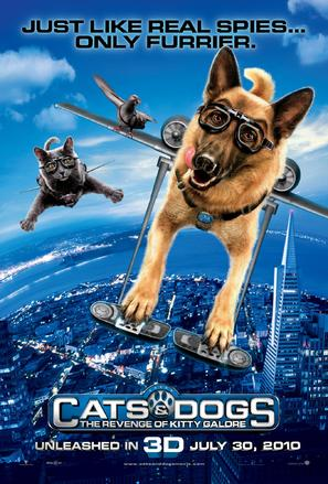 Cats & Dogs: The Revenge of Kitty Galore - Movie Poster (thumbnail)