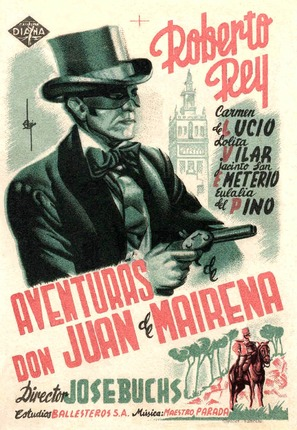 Aventuras de Don Juan Mairena - Spanish Movie Poster (thumbnail)