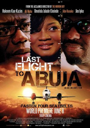 Last Flight to Abuja - British Movie Poster (thumbnail)