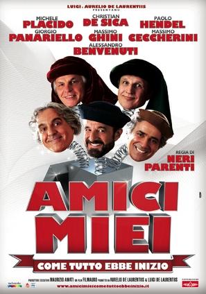 Amici miei - Come tutto ebbe inizio - Italian Movie Poster (thumbnail)