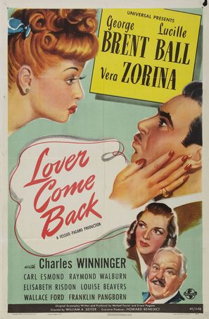 Lover Come Back - Movie Poster (thumbnail)