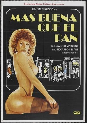 Buona come il pane - Spanish Movie Poster (thumbnail)
