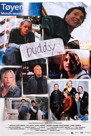 Buddy - Norwegian Movie Poster (thumbnail)