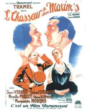 Le chasseur de chez Maxim's - French Movie Poster (thumbnail)