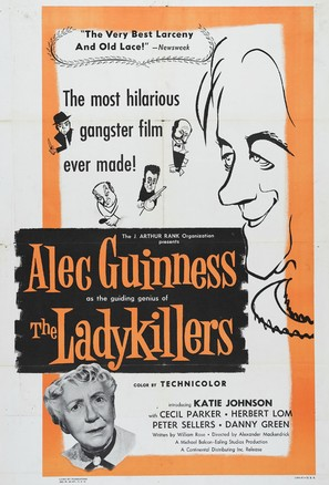 The Ladykillers - Movie Poster (thumbnail)