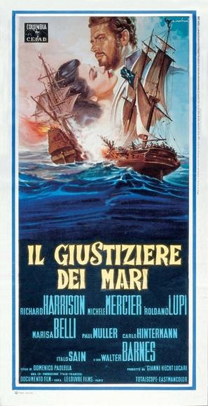 Il giustiziere dei mari - Italian Movie Poster (thumbnail)