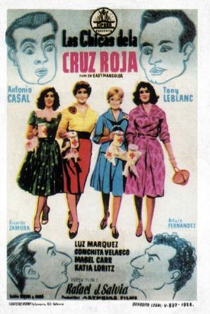 Las chicas de la Cruz Roja - Spanish Movie Poster (thumbnail)