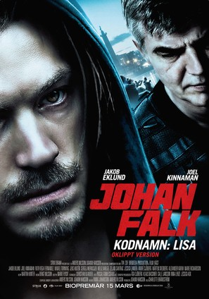 Johan Falk: Kodnamn Lisa - Swedish Movie Poster (thumbnail)