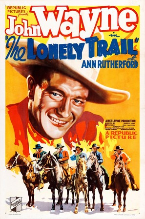 The Lonely Trail - Movie Poster (thumbnail)