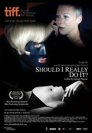 Bunu gerçekten yapmali miyim? - Turkish Movie Poster (thumbnail)