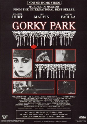 Gorky Park - Video release movie poster (thumbnail)