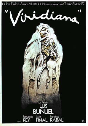 Viridiana - Spanish Movie Poster (thumbnail)