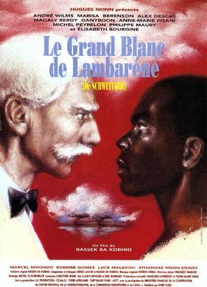 Le grand blanc de Lambaréné - French Movie Poster (thumbnail)