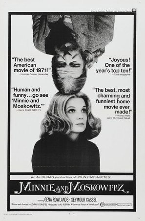 Minnie and Moskowitz - Movie Poster (thumbnail)