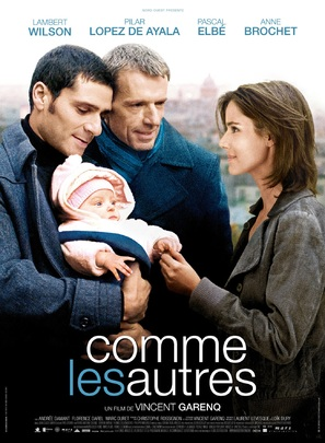 Comme les autres - French Movie Poster (thumbnail)