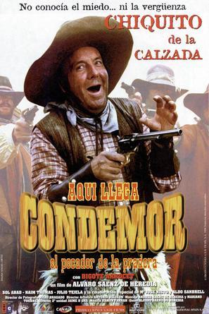 Aquí llega Condemor, el pecador de la pradera