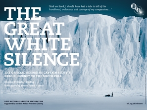 The Great White Silence - British Movie Poster (thumbnail)