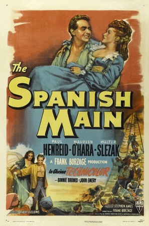 The Spanish Main - Movie Poster (thumbnail)
