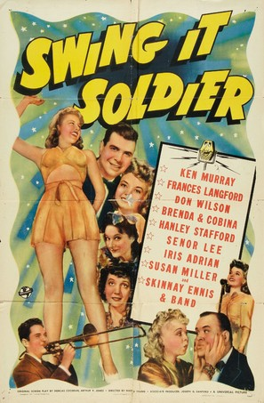 Swing It Soldier - Movie Poster (thumbnail)