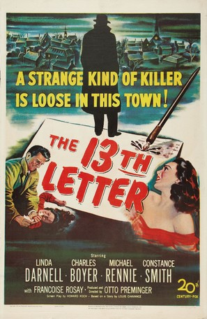 The 13th Letter - Movie Poster (thumbnail)
