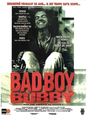 Bad Boy Bubby - French Movie Poster (thumbnail)