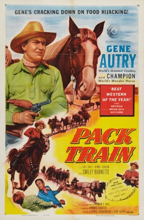 Pack Train - Movie Poster (thumbnail)