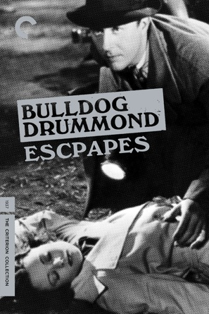 Bulldog Drummond Escapes - DVD movie cover (thumbnail)