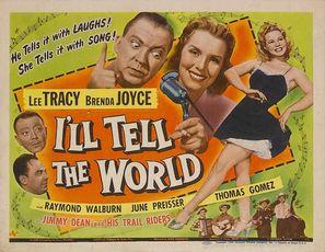 I'll Tell the World - Movie Poster (thumbnail)
