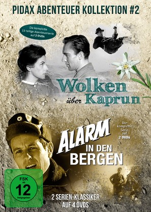 """Alarm in den Bergen"" - German DVD movie cover (thumbnail)"