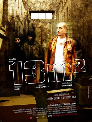 13m² - French Movie Poster (thumbnail)