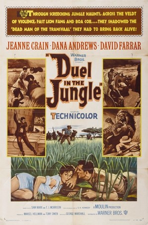 Duel in the Jungle - Movie Poster (thumbnail)