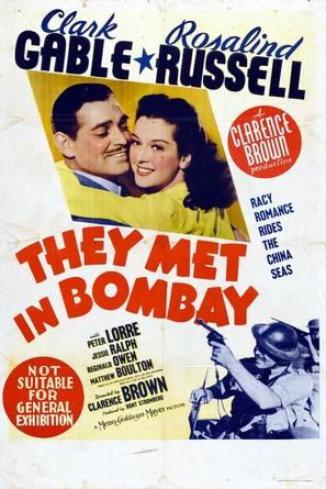 They Met in Bombay - Movie Poster (thumbnail)