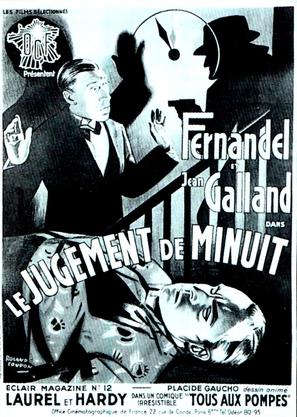 Le jugement de minuit - French Movie Poster (thumbnail)