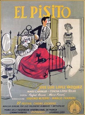 El pisito - Spanish Movie Poster (thumbnail)
