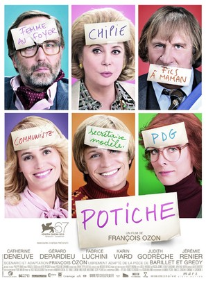 Potiche - French Movie Poster (thumbnail)