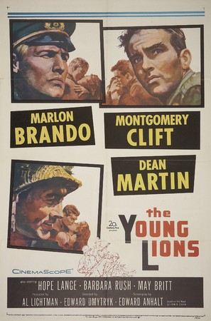 The Young Lions - Movie Poster (thumbnail)