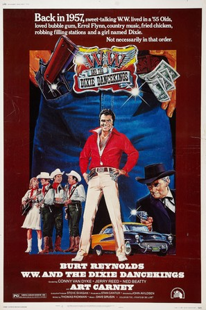 W.W. and the Dixie Dancekings - Movie Poster (thumbnail)