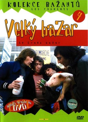 Grand bazar, Le - Czech DVD cover (thumbnail)