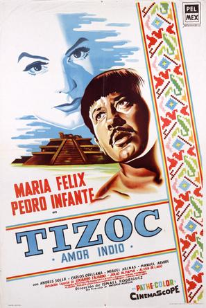 Tizoc - Mexican Movie Poster (thumbnail)