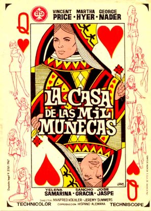 La casa de las mil muñecas - Spanish Movie Poster (thumbnail)