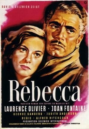 Rebecca - German Movie Poster (thumbnail)